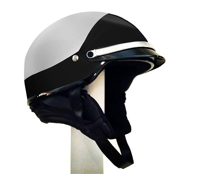 Half Shell Police Motorcycle Helmet Tek S Police Law Enforcement